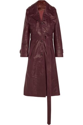 VETEMENTS Leather trench coat