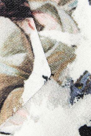 ERDEM Jaidee printed stretch-crepe coat