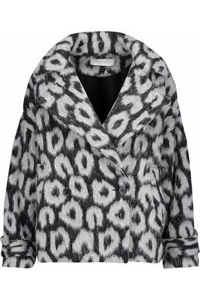 IRO Printed wool-blend coat