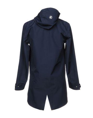 Фото 2 - Легкое пальто от SAVE THE DUCK темно-синего цвета