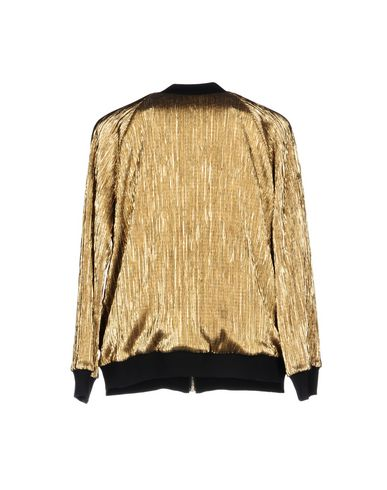 Фото 2 - Женскую куртку  золотистого цвета