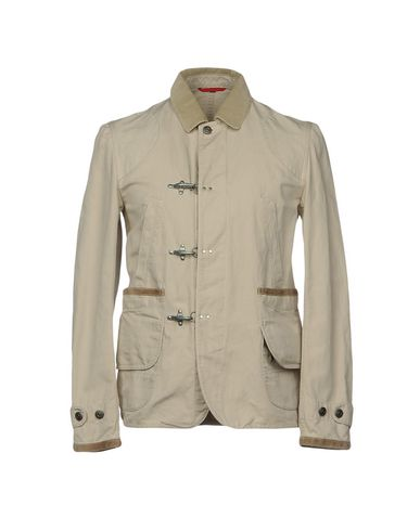 Фото - Мужскую куртку FAY светло-серого цвета