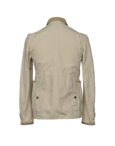 Фото 2 - Мужскую куртку FAY светло-серого цвета