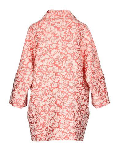 Фото 2 - Легкое пальто цвета фуксия