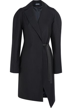 JACQUEMUS Wool wrap coat