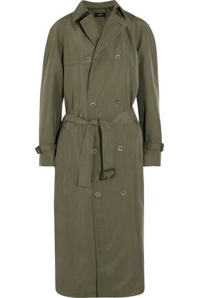 JOSEPH Parachute washed-silk trench coat