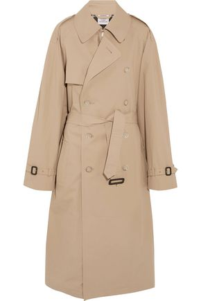 VETEMENTS + Mackintosh oversized cotton trench coat
