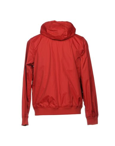 Фото 2 - Мужскую куртку  кирпично-красного цвета