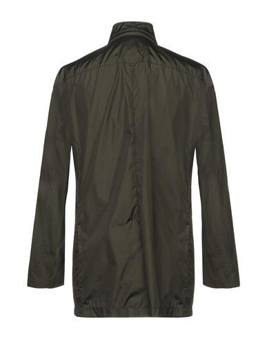 Фото 2 - Мужскую куртку FAY темно-зеленого цвета