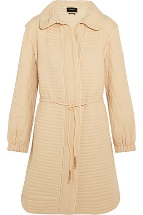 ISABEL MARANT Boyd quilted cotton coat