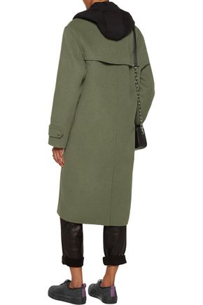 ALEXANDER WANG Double-breasted felt trench coat