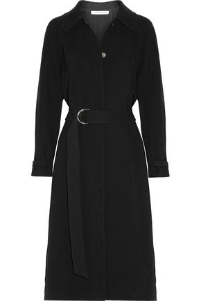 ELIZABETH AND JAMES Kelly pleated cady coat