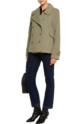 ZIMMERMANN Mischief double-breasted wool-blend coat
