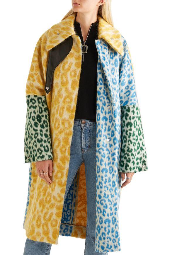 Bertilyn Leo oversized leopard-print felt coat | ACNE STUDIOS | Sale up to  70% off | THE OUTNET