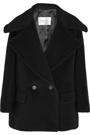 MAX MARA Double-breasted wool and cashmere-blend coat