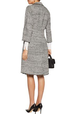 OSCAR DE LA RENTA Wool-blend bouclé-tweed coat