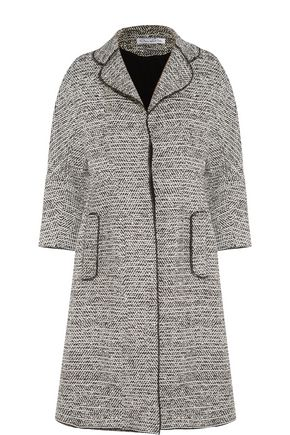 OSCAR DE LA RENTA Wool-blend bouclé-tweed coat
