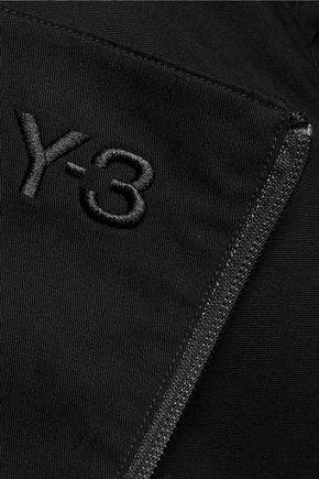 Y-3 + adidas Originals draped jersey coat