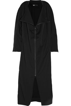 Y-3 + adidas Originals draped jersey coat