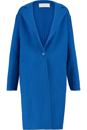 SANDRO Felted wool-blend coat