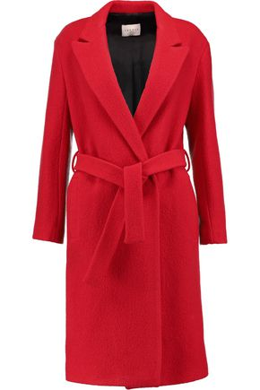 SANDRO Felted wool coat