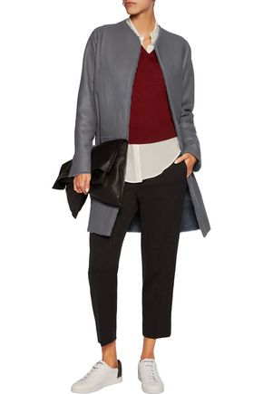 VINCE. Reversible shearling jacket