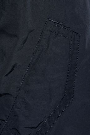 VINCE. Oversized cotton-blend shell bomber jacket