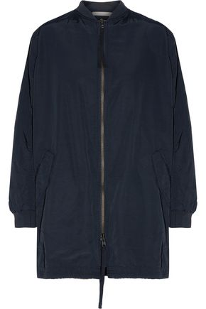 VINCE. Oversized cotton-blend shell bomber jacket