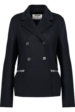 ACNE STUDIOS Rio double-breasted wool and cashmere-blend coat