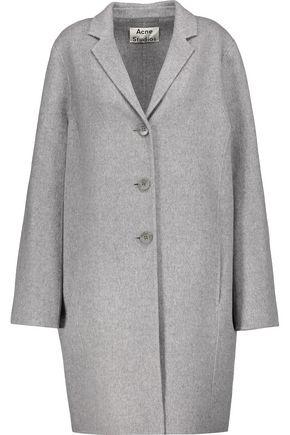 ACNE STUDIOS Elsa wool and cashmere-blend felt coat