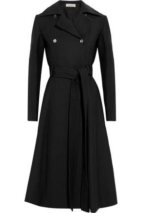NINA RICCI Belted faille coat