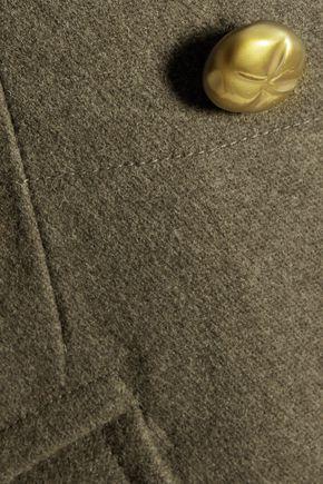 NINA RICCI Double-breasted wool-blend coat