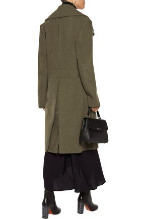 NINA RICCI Double-breasted wool-blend coat
