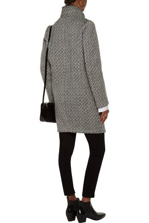 MAJE Bouclé coat