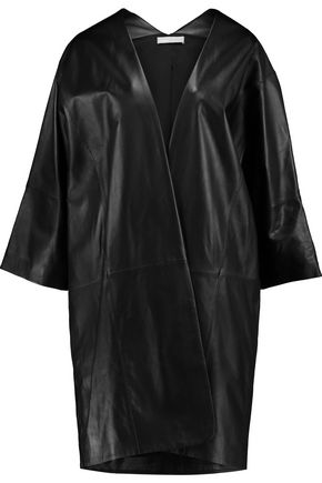 VINCE. Leather coat