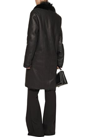 JOSEPH Reversible leather coat