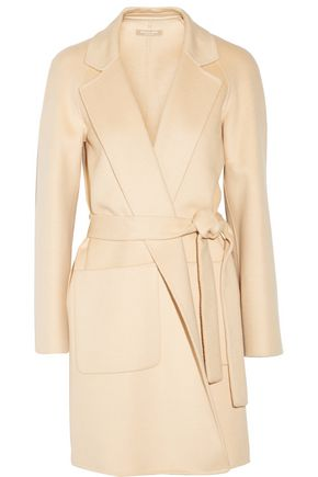 MICHAEL KORS COLLECTION Wool, angora and cashgora-blend coat