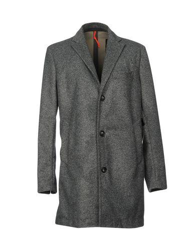 Фото - Мужское пальто или плащ RRD серого цвета