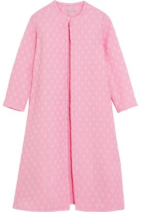 EMILIA WICKSTEAD Helen oversized cotton-blend cloqué coat