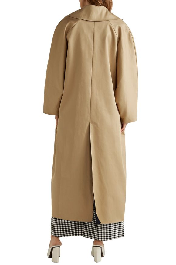 Oversized reversible cotton-canvas coat | A.W.A.K.E. | Sale up to 70% off |  THE OUTNET