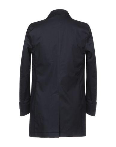 Фото 2 - Легкое пальто от EXIBIT темно-синего цвета
