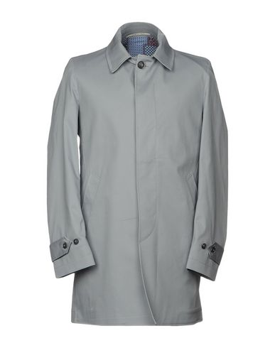 Фото - Легкое пальто от EXIBIT серого цвета