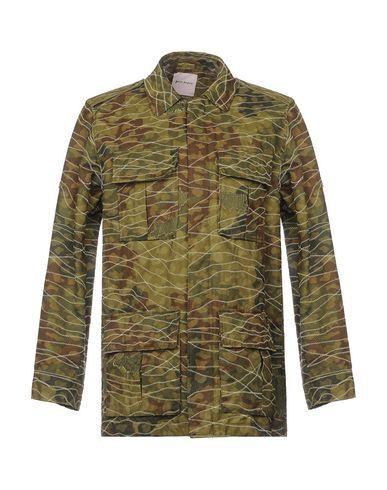 Фото - Мужскую куртку PALM ANGELS цвет зеленый-милитари