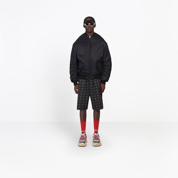 BALENCIAGA Coats Man Wobble Bomber Jacket g