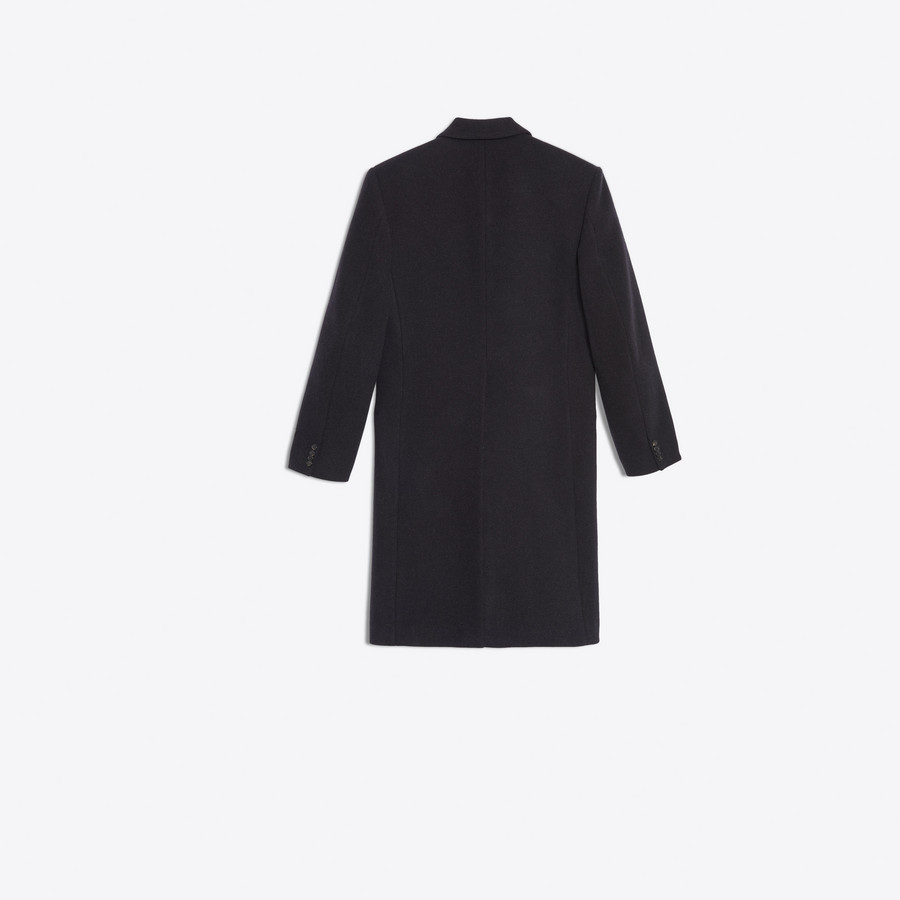 BALENCIAGA Double Breasted Coat Coats U d