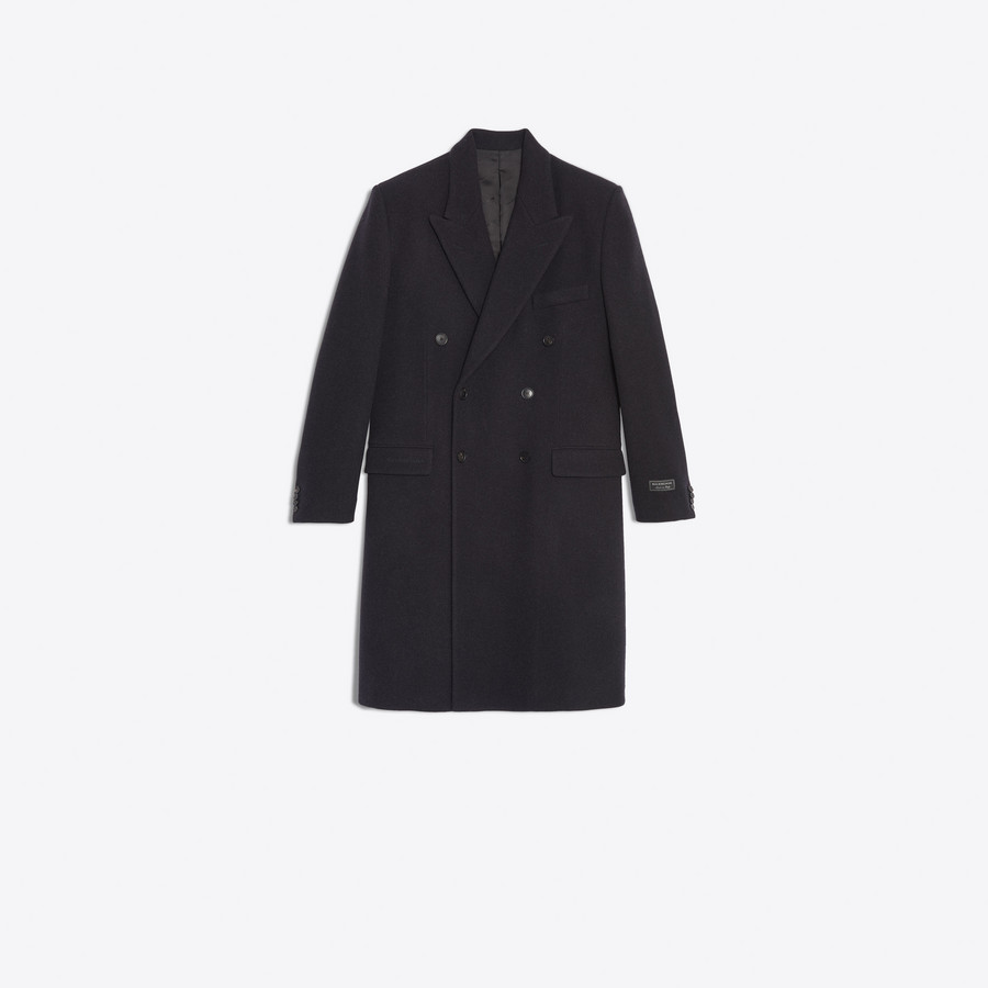 BALENCIAGA Double Breasted Coat Coats U f