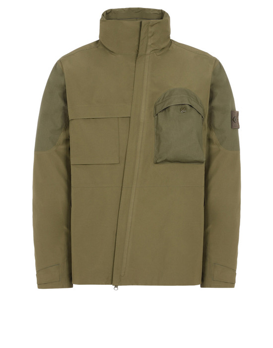 STONE ISLAND 休闲夹克 427F1 GHOST PIECE_TANK SHIELD FEATURING MULTI LAYER FUSION TECHNOLOGY