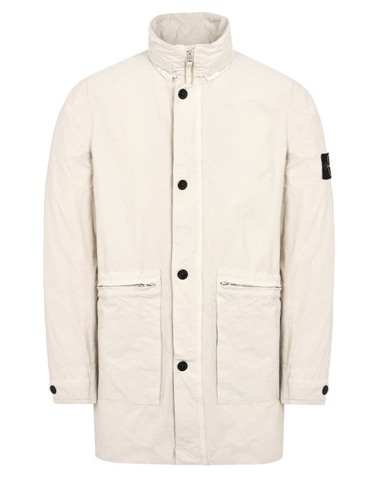 STONE ISLAND Jacket  44830 LIGHT COTTON NYLON TWILL