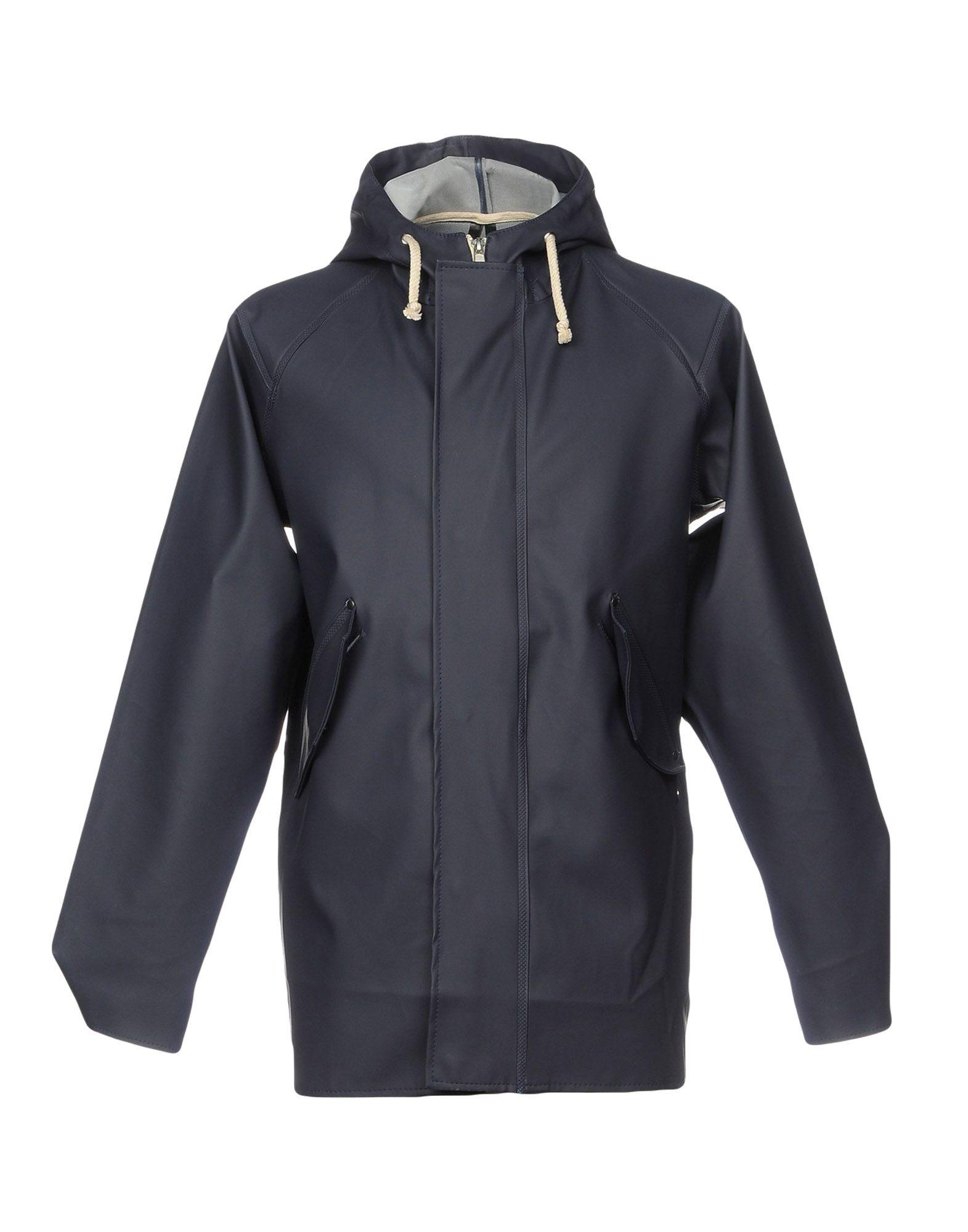 ELKA Full-Length Jacket in Dark Blue