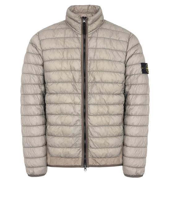Jacket 40324 GARMENT-DYED MICRO YARN DOWN_PACKABLE STONE ISLAND - 0